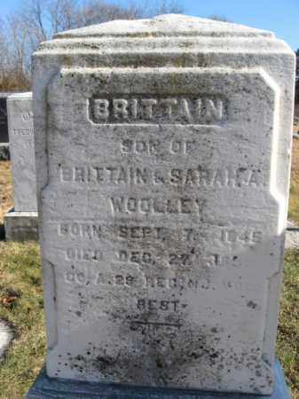 WOOLLEY, BRITTAIN (BRITTON) - Monmouth County, New Jersey | BRITTAIN (BRITTON) WOOLLEY - New Jersey Gravestone Photos