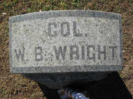 WRIGHT, LT.COL.WILLIAM B. - Monmouth County, New Jersey | LT.COL.WILLIAM B. WRIGHT - New Jersey Gravestone Photos