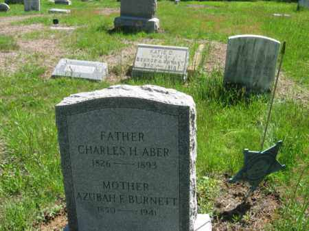 ABER, CHARLES H. - Morris County, New Jersey | CHARLES H. ABER - New Jersey Gravestone Photos