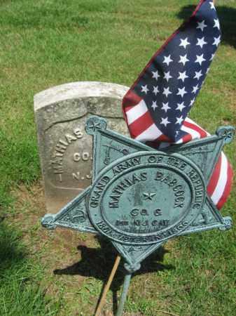 BABCOCK, MATHIAS - Morris County, New Jersey | MATHIAS BABCOCK - New Jersey Gravestone Photos