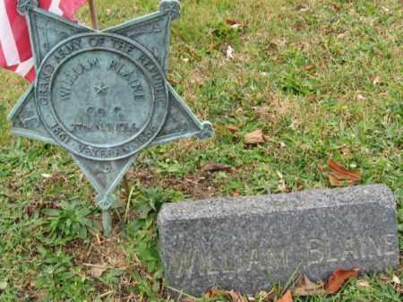 BLAINE, WILLIAM - Morris County, New Jersey | WILLIAM BLAINE - New Jersey Gravestone Photos