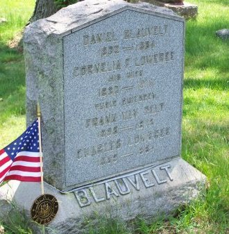 BLAUVELT, DANIEL - Morris County, New Jersey   DANIEL BLAUVELT - New Jersey Gravestone Photos
