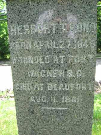 BOND, HERBERT T. - Morris County, New Jersey | HERBERT T. BOND - New Jersey Gravestone Photos