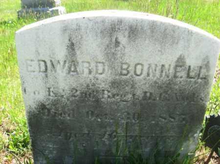 BONNELL, EDWARD - Morris County, New Jersey | EDWARD BONNELL - New Jersey Gravestone Photos