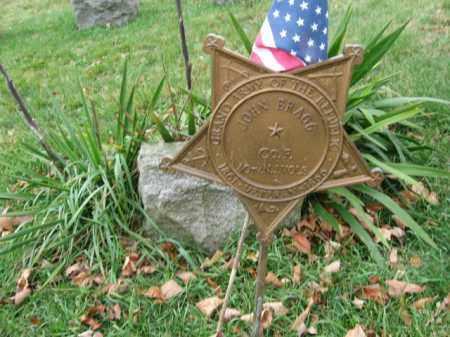 BRAGG, JOHN - Morris County, New Jersey | JOHN BRAGG - New Jersey Gravestone Photos