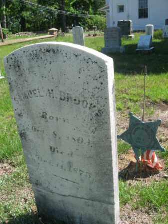 BROOKS, SAMUEL H. - Morris County, New Jersey | SAMUEL H. BROOKS - New Jersey Gravestone Photos
