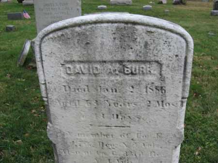 BURR, DAVID A. - Morris County, New Jersey | DAVID A. BURR - New Jersey Gravestone Photos
