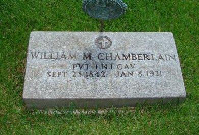 CHAMBERLAIN, WILLIAM M. - Morris County, New Jersey | WILLIAM M. CHAMBERLAIN - New Jersey Gravestone Photos