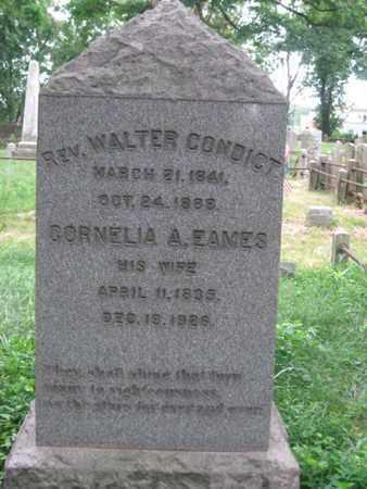 CONDICT, WALTER - Morris County, New Jersey | WALTER CONDICT - New Jersey Gravestone Photos