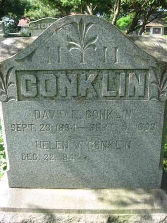 CONKLIN, DAVID E. - Morris County, New Jersey | DAVID E. CONKLIN - New Jersey Gravestone Photos