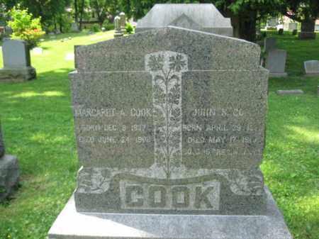 COOK, JOHN S. - Morris County, New Jersey | JOHN S. COOK - New Jersey Gravestone Photos