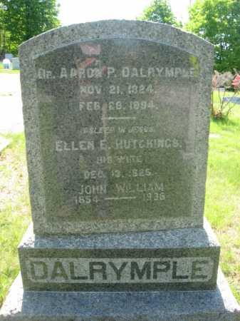 DALRYMPLE, AARON P. - Morris County, New Jersey | AARON P. DALRYMPLE - New Jersey Gravestone Photos