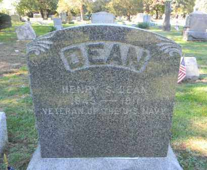 DEAN, HENRY S. - Morris County, New Jersey | HENRY S. DEAN - New Jersey Gravestone Photos