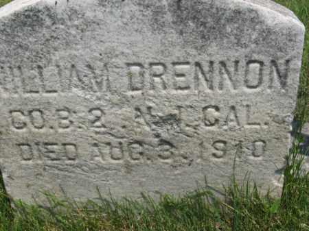 DRENNON (DRENNAN), WILLIAM - Morris County, New Jersey | WILLIAM DRENNON (DRENNAN) - New Jersey Gravestone Photos