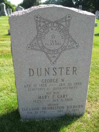DUNSTER, SGT.GEORGE W. - Morris County, New Jersey | SGT.GEORGE W. DUNSTER - New Jersey Gravestone Photos