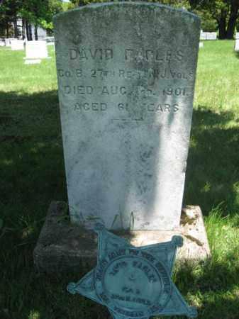 EAGLES, DAVID - Morris County, New Jersey | DAVID EAGLES - New Jersey Gravestone Photos