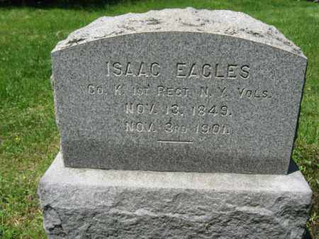 EAGLES, ISAAC - Morris County, New Jersey | ISAAC EAGLES - New Jersey Gravestone Photos