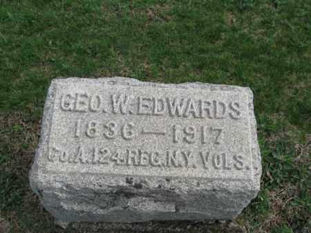 EDWARDS, GEORGE W. - Morris County, New Jersey | GEORGE W. EDWARDS - New Jersey Gravestone Photos