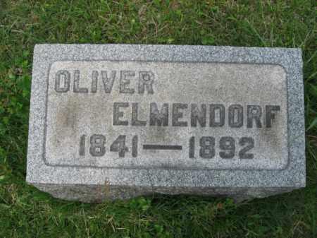 ELMENDORF, CORP.OLIVER - Morris County, New Jersey | CORP.OLIVER ELMENDORF - New Jersey Gravestone Photos