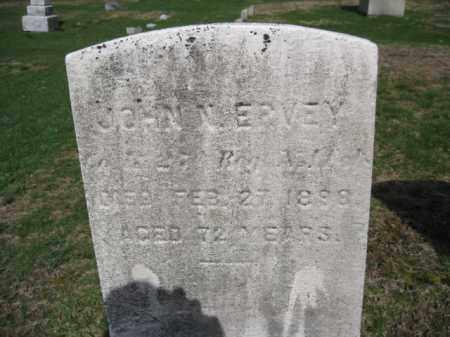 ERVEY, JOHN N. - Morris County, New Jersey | JOHN N. ERVEY - New Jersey Gravestone Photos