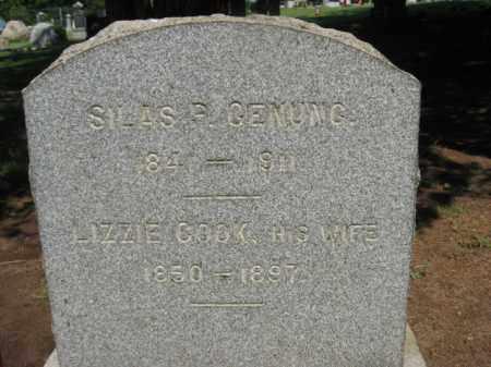 GENUNG, SILAS P. - Morris County, New Jersey | SILAS P. GENUNG - New Jersey Gravestone Photos