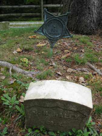 HALEY, JOHN H. - Morris County, New Jersey | JOHN H. HALEY - New Jersey Gravestone Photos