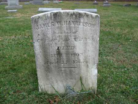 HANKINSON, JAMES W. - Morris County, New Jersey | JAMES W. HANKINSON - New Jersey Gravestone Photos