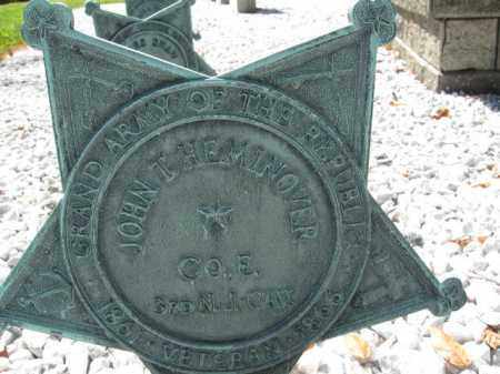 HEMINGOVER, JOHN T. - Morris County, New Jersey | JOHN T. HEMINGOVER - New Jersey Gravestone Photos
