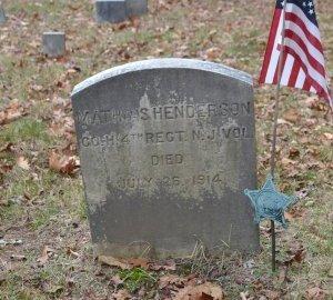 HENDERSON, MATHIAS (MATTHIAS) - Morris County, New Jersey   MATHIAS (MATTHIAS) HENDERSON - New Jersey Gravestone Photos