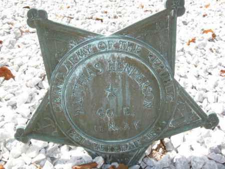 HENDERSON, MATTHIAS - Morris County, New Jersey | MATTHIAS HENDERSON - New Jersey Gravestone Photos