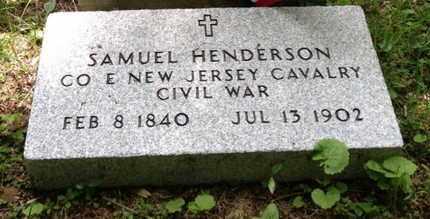 HENDERSON, SAMUEL - Morris County, New Jersey | SAMUEL HENDERSON - New Jersey Gravestone Photos