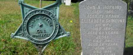 HOPKINS, JOHN A. - Morris County, New Jersey   JOHN A. HOPKINS - New Jersey Gravestone Photos