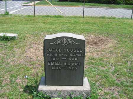 HOUSEL, JACOB - Morris County, New Jersey | JACOB HOUSEL - New Jersey Gravestone Photos