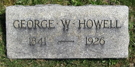 HOWELL, GEORGE W. - Morris County, New Jersey | GEORGE W. HOWELL - New Jersey Gravestone Photos