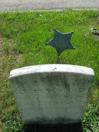 HULBERT, GEORGE W. - Morris County, New Jersey | GEORGE W. HULBERT - New Jersey Gravestone Photos