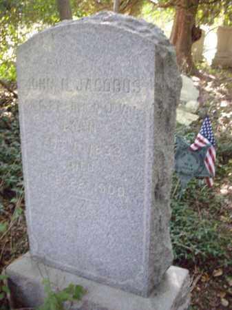 JACOBUS, JOHN N. (U) - Morris County, New Jersey   JOHN N. (U) JACOBUS - New Jersey Gravestone Photos