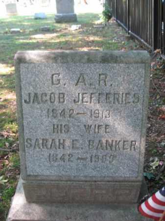JEFFERIES (JEFFERIS), JACOB - Morris County, New Jersey | JACOB JEFFERIES (JEFFERIS) - New Jersey Gravestone Photos
