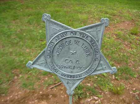LURK, GEORGE W. - Morris County, New Jersey | GEORGE W. LURK - New Jersey Gravestone Photos