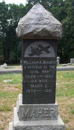 MAHER, WILLIAM A. - Morris County, New Jersey | WILLIAM A. MAHER - New Jersey Gravestone Photos