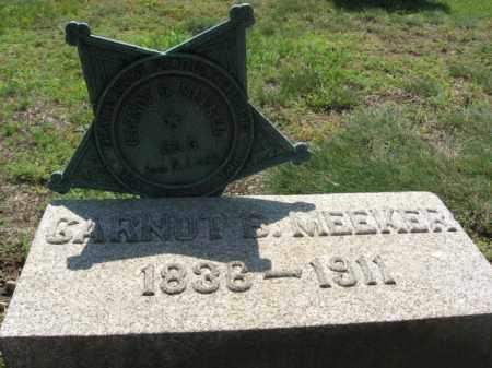 MEEKER, CARNOT B. - Morris County, New Jersey   CARNOT B. MEEKER - New Jersey Gravestone Photos