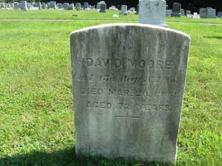 MOORE, DAVID - Morris County, New Jersey | DAVID MOORE - New Jersey Gravestone Photos