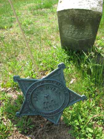 MYERS, JOHN - Morris County, New Jersey | JOHN MYERS - New Jersey Gravestone Photos