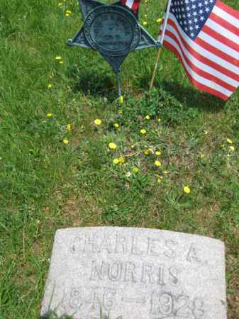 NORRIS, CHARLES A. - Morris County, New Jersey   CHARLES A. NORRIS - New Jersey Gravestone Photos