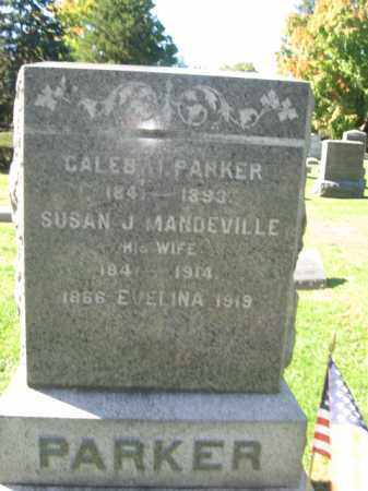 PARKER, CALEB H. - Morris County, New Jersey | CALEB H. PARKER - New Jersey Gravestone Photos