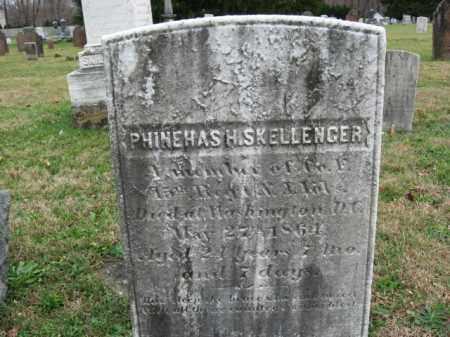 SKELLENGER, PHINEAS (PHINEHAS) H. - Morris County, New Jersey | PHINEAS (PHINEHAS) H. SKELLENGER - New Jersey Gravestone Photos