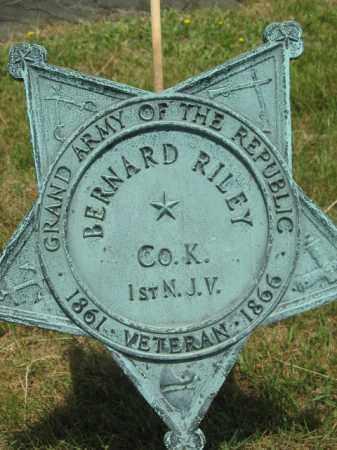 RILEY, BERNARD - Morris County, New Jersey | BERNARD RILEY - New Jersey Gravestone Photos