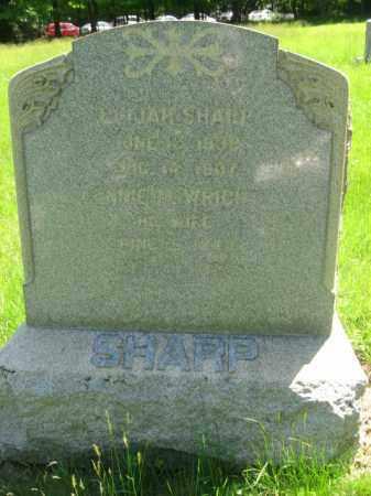 SHARP, CORP.ELIJAH - Morris County, New Jersey | CORP.ELIJAH SHARP - New Jersey Gravestone Photos