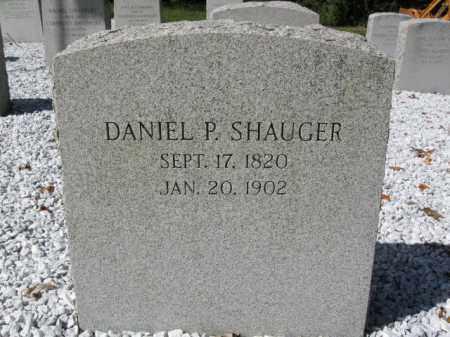 SHAUGER (SHANGER), DANIEL P. - Morris County, New Jersey | DANIEL P. SHAUGER (SHANGER) - New Jersey Gravestone Photos