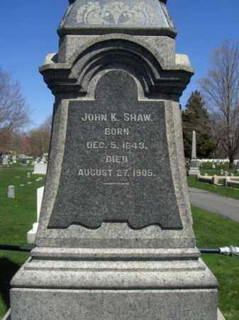 SHAW, JOHN K. - Morris County, New Jersey   JOHN K. SHAW - New Jersey Gravestone Photos