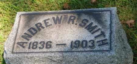 SMITH, ANDREW R. - Morris County, New Jersey | ANDREW R. SMITH - New Jersey Gravestone Photos
